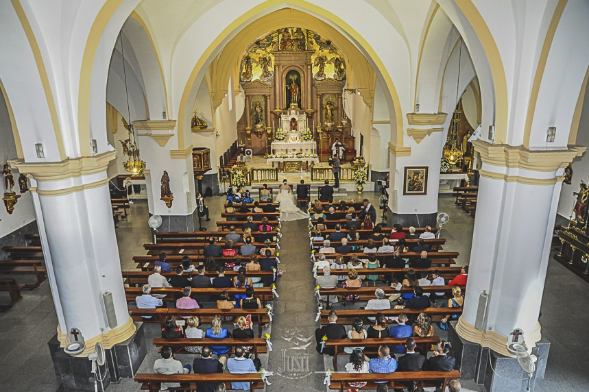 Boda en Talarrubias fotografias parroquia santa catalina