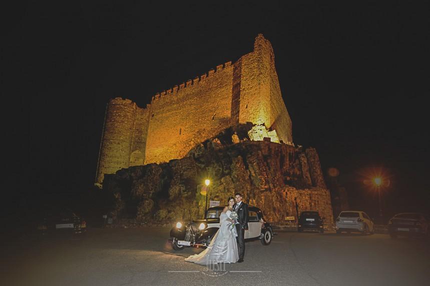 Boda en Talarrubias fotografias castillo puebla alcocer
