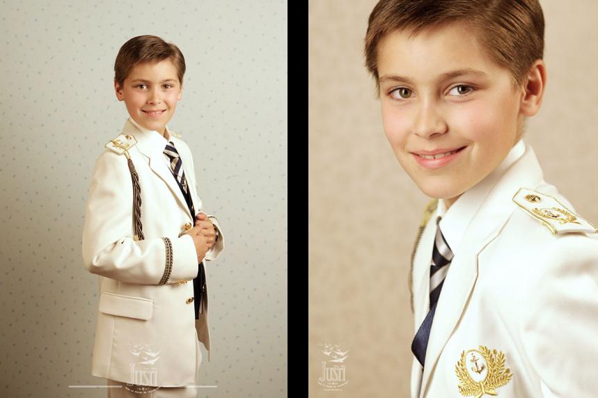 Niño comunion fotografia estudio profesional