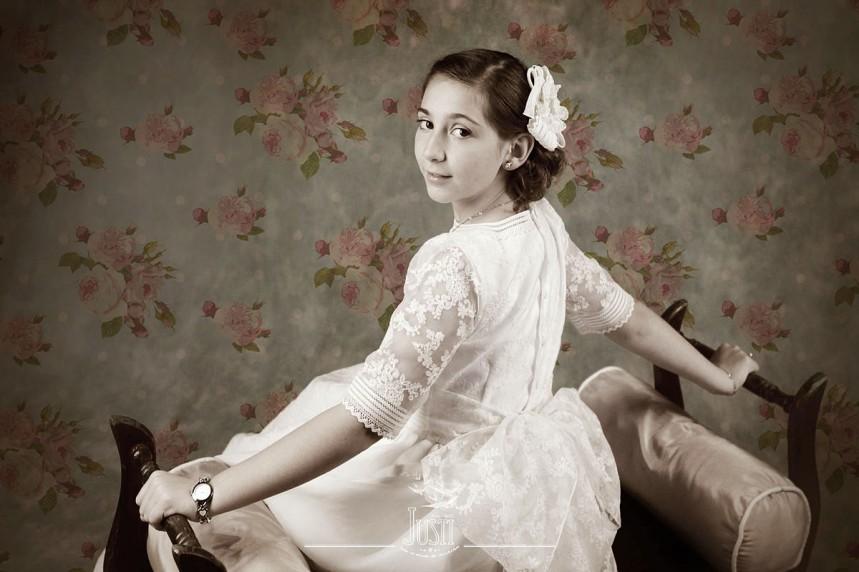 fotografia estilo vintage comunion antigua