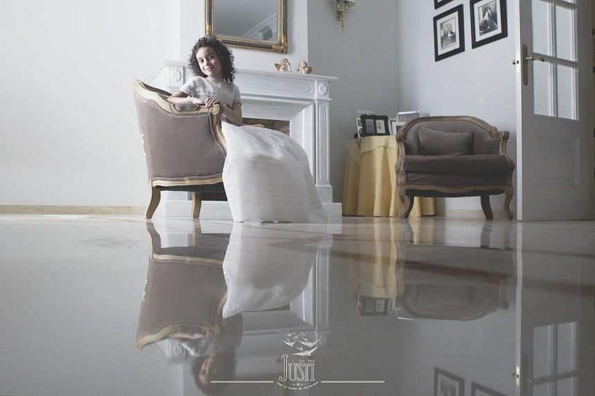 fotos profesionales de comunion en casa