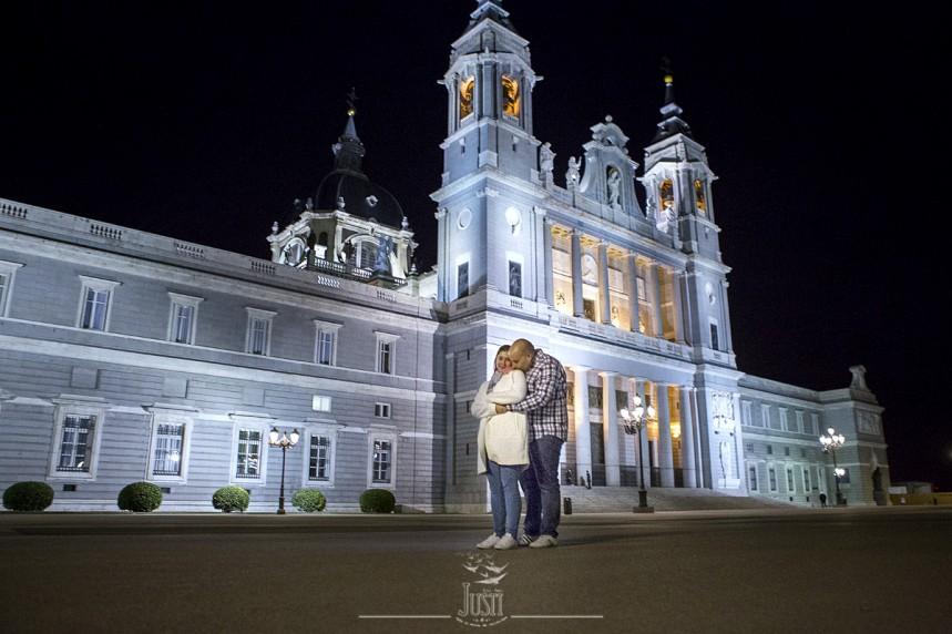 foto preboda catedral de la almudena Madrid a