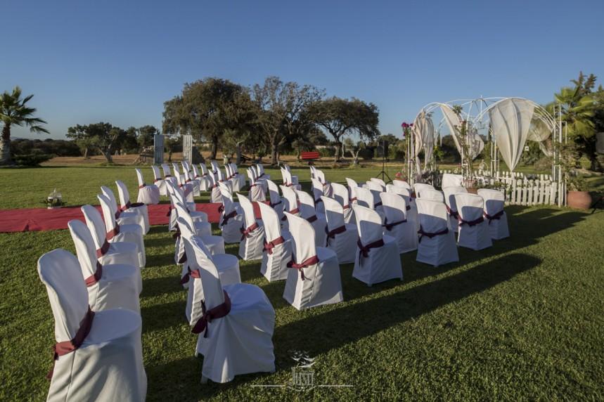 Complejo Tiro al Pichon - boda en exterior - badajoz